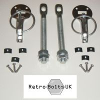 Stainless Steel Bonnet / Boot Pins - MK1 ESCORT